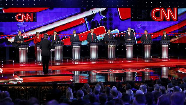 How the Republican candidates scored in Las Vegas debate