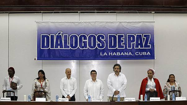 Processo de paz na Colômbia ganha força
