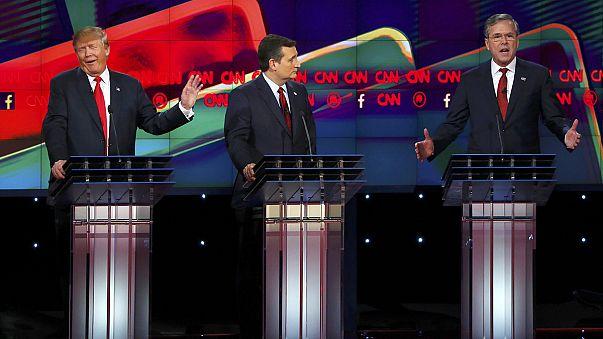 USA: Schlagabtausch beim TV-Duell der Republikaner