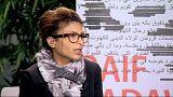 Mulher de bloguer Raif Badawi recebe Prémio Sakharov em nome de ativista