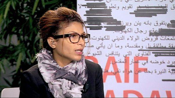 Büszke férjére és semmit nem bánt meg a bebörtönzött szaúdi blogger felesége