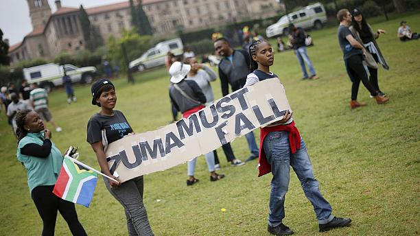 Thousands of South Africans join nationwide march against Zuma