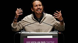 Pablo Iglesias, joker with the king, serious with Spanish Podemos voters