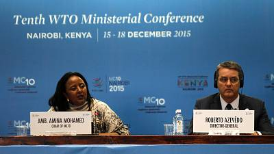 Africans call on WTO to deliver trade deals or change role