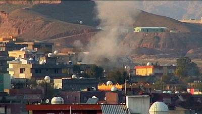 Clashes between Turkish forces and PKK in Cizre