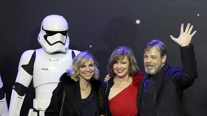 Stars and fans invade London for the premiere of The Force Awakens