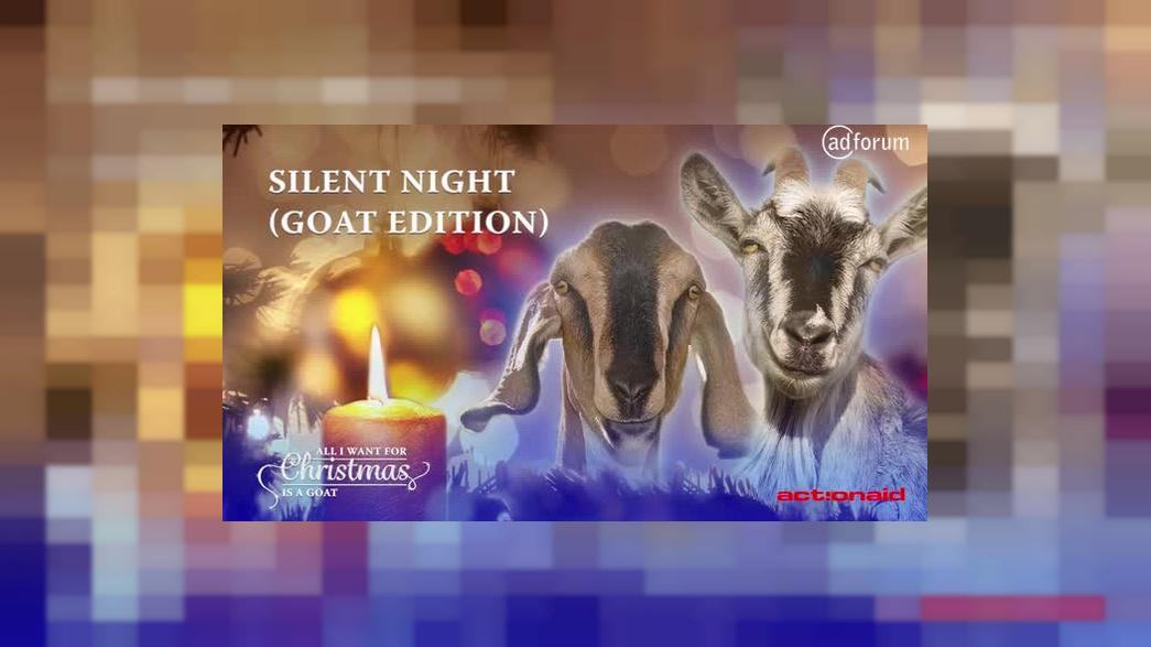 All I want for Christmas is a Goat (ActionAid International)