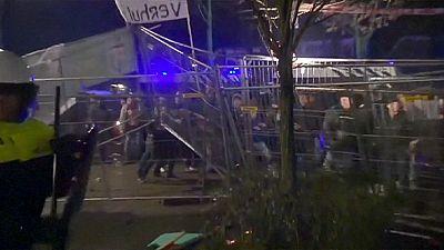 Dutch riot over plans for a refugee centre