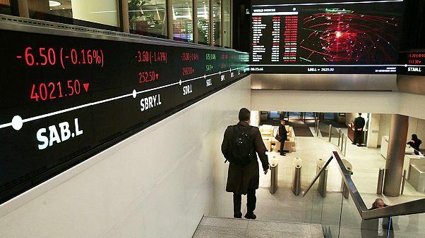 Биржевые индексы растут после решения ФРС США
