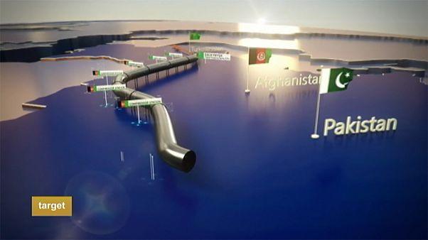 Fejlődést és békét remélnek az épülő gázvezetéktől Közép-Ázsiában