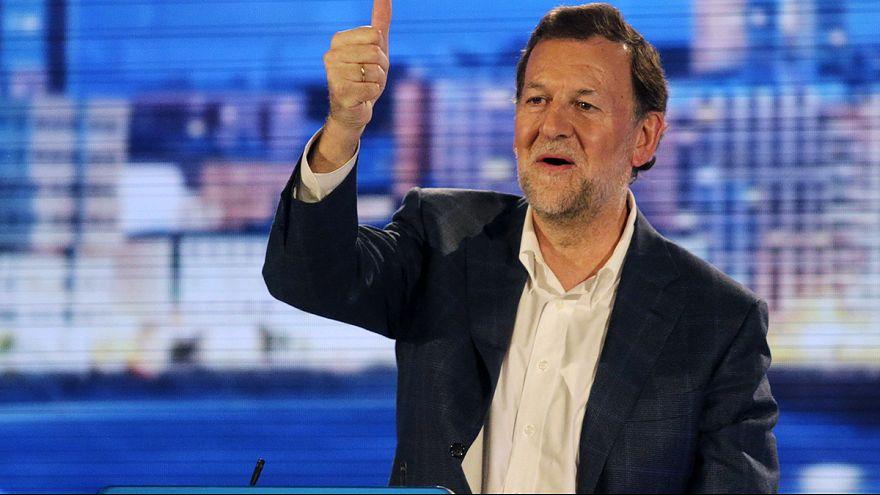 ماريانو راخوي يتلقى ضربةً قبيل الانتخابات الأخيرة في اسبانيا