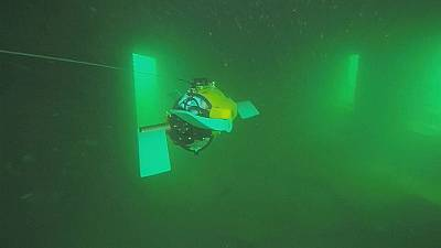 Cutting-edge robotic 'turtle' to explore shipwrecks