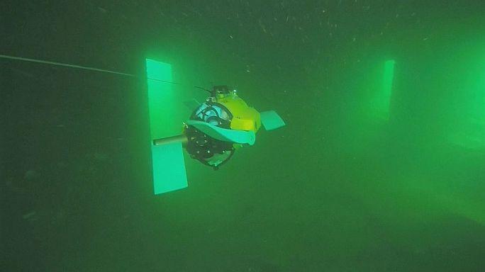 Un robot sous-marin inspiré d'une tortue