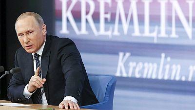Putin sticks the boot into Turkey in annual address