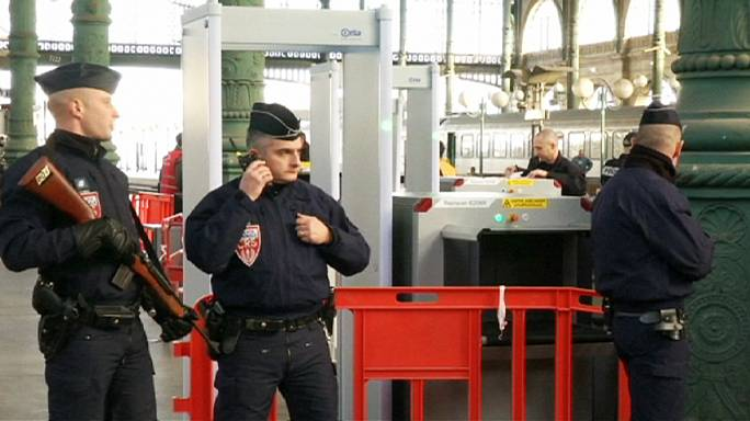 تدابير أمنية مشددة في محطات القطار الفرنسية