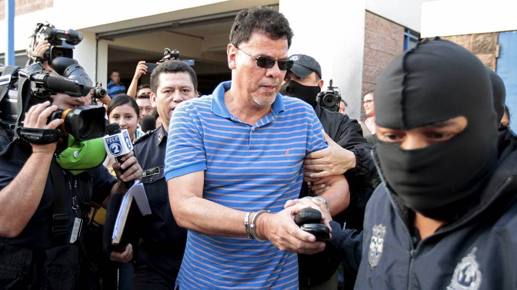 Reynaldo Vasquez arrêté au Salvador