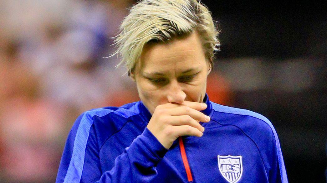 الامريكية آبي وامباخ أفضل مسجلة في تاريخ كرة القدم تلعب آخر مقابلة لها