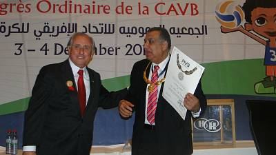 Confederation of African Volleyball elects new board