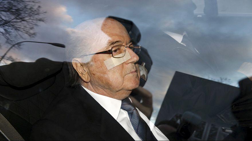 Blatter meghallgatása