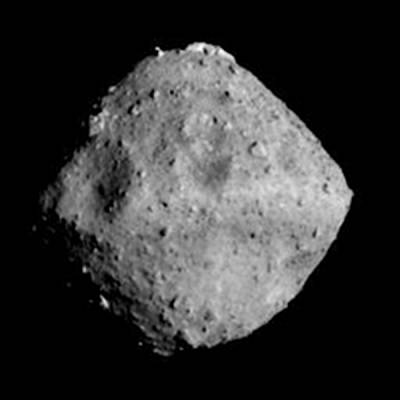 Asteroid Ryugu as photographed by Hayabusa 2 on June 24, 2018.