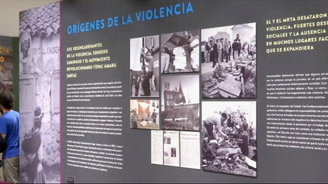 Fájdalmas történelmére emlékezik Peru