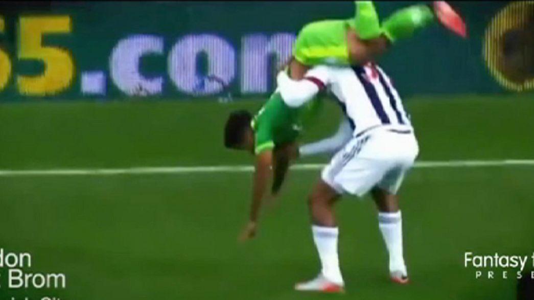 Los momentos más divertidos del año en el mundo del fútbol