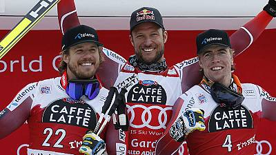 Esqui alpino: Svindal lidera Noruega na conquista de Val Gardena
