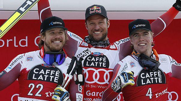 Triplé norvégien en super-G