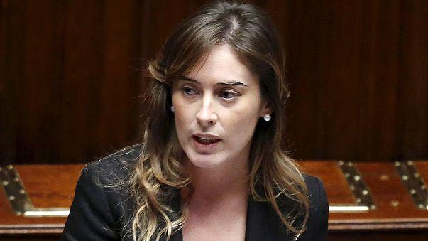 La ministra italiana de Reformas evita en el Parlamento de una moción de censura