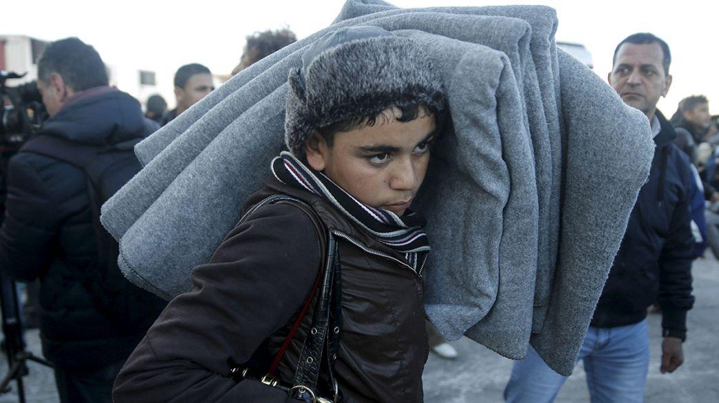 2015'te 1 milyon mülteci Avrupa'ya giriş yaptı