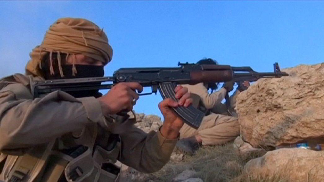 Tropas iraquianas combatem pela libertação de Ramadi