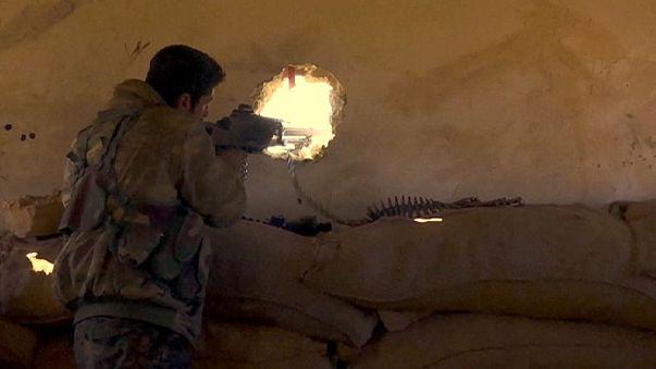 تقدم للقوات الكردية على حساب داعش في شمال سوريا