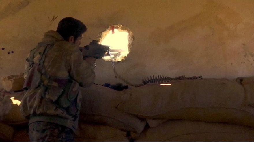 Dáesh pierde terreno en el norte de Siria