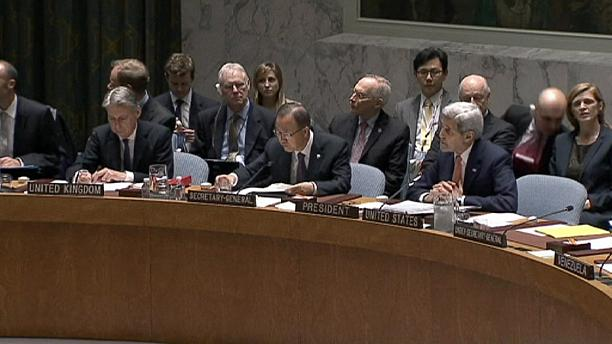 UN Security Council adopts resolution for Syrian peace process