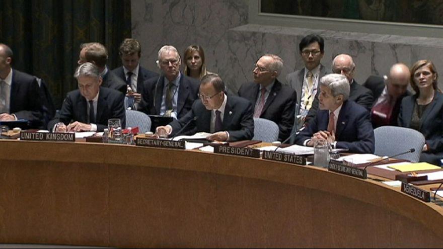 مجلس الامن يتبنى بالاجماع خطة لإنهاء الصراع في سوريا