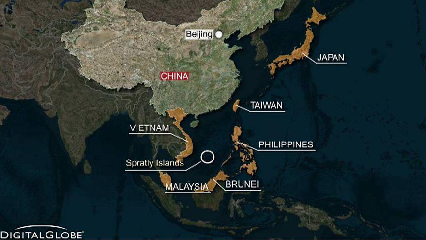 Çin ile ABD yeniden Güney Çin Denizi'nde karşı karşıya
