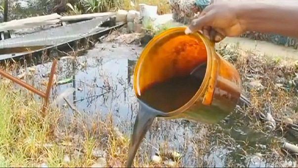 A Shell szennyezett Nigériában
