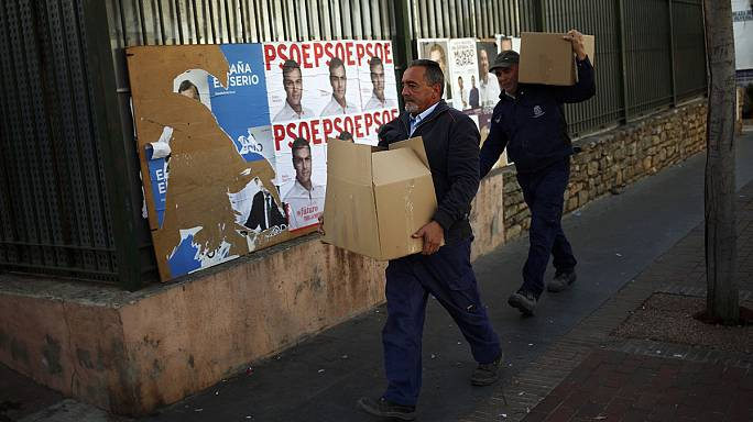 Campaigning closes in Spain's tightest election race in decades