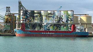 La plus grande fresque murale du monde dévoilée en Italie