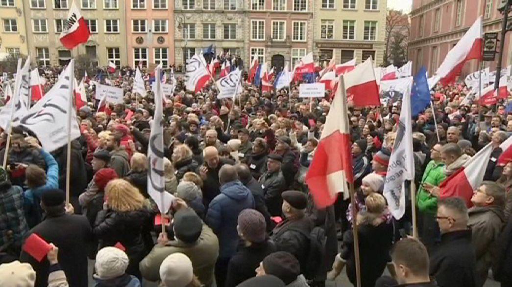 Polonia: continuano le proteste anti-governo