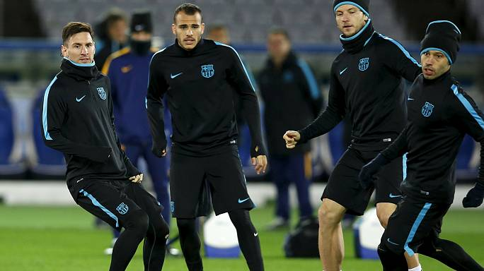 Barcelona prepare for final against River Plate