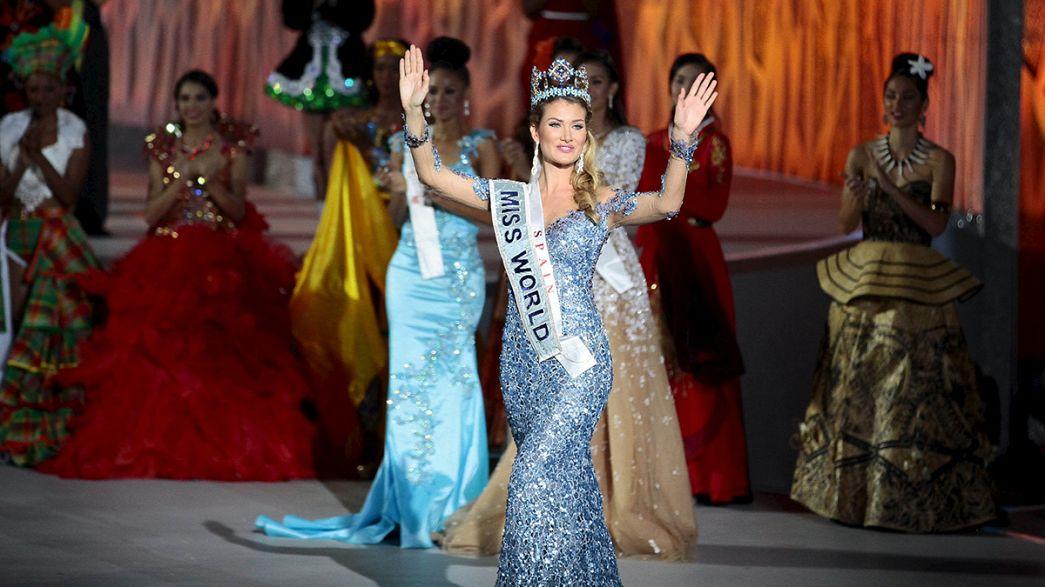 Schöne Spanierin wird Miss World 2015