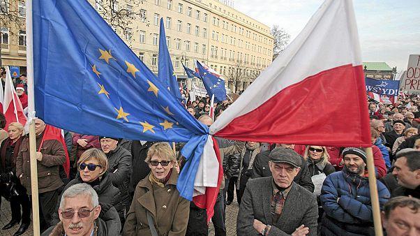 A demokráciát féltik a lengyelek