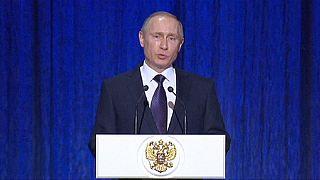 Putin: Suriye'de kullandığımız gerçek kapasitemizin çok uzağında