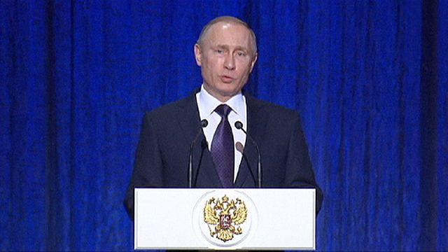 بوتين: روسيا مستعدة لاستخدام المزيد من الوسائل العسكرية بسوريا