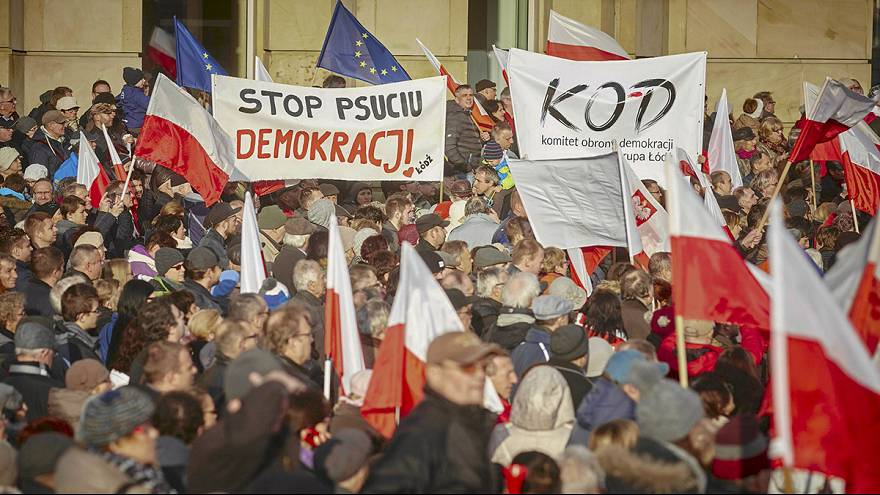 Rallies across Poland