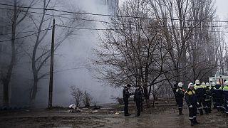 انفجار گاز در یک مجتمع مسکونی در روسیه