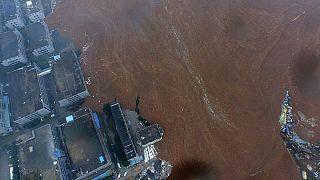 Glissement de terrain en Chine: 22 personnes portées disparues