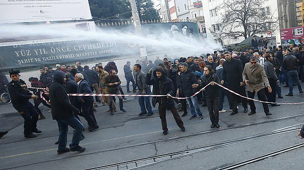 Clashes in Turkey as Kurds protest against curfews and crackdown on PKK militants