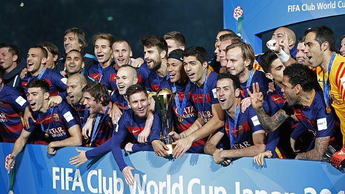 برشلونة يتوج للمرة الثالثة بكأس العالم للأندية